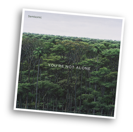 You're not alone out now